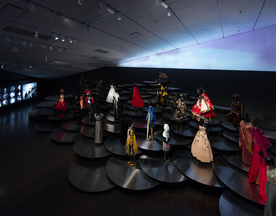 Dior Denver Art Museum Exhibition Design OMA