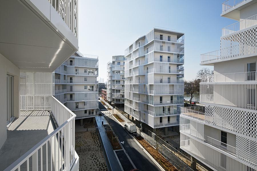 Rue Camille Claudel housing Hamonic Masson Associates