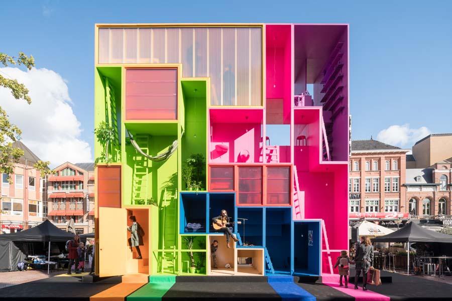 MVRDV Hotel Dutch Design Week MVRDV Hotel Dutch Design Week