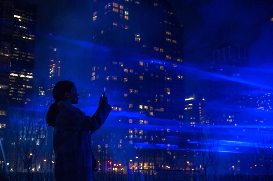 Studio Roosegaarde Waterlicht UN|Studio Roosegaarde Waterlicht UN