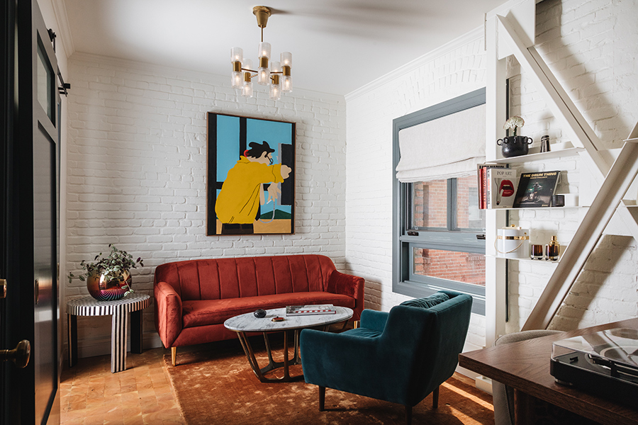Gold-Diggers hotel Los angeles interior design