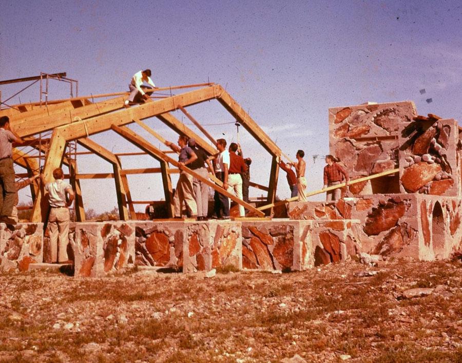 Taliesin West Music Pavilion restoration