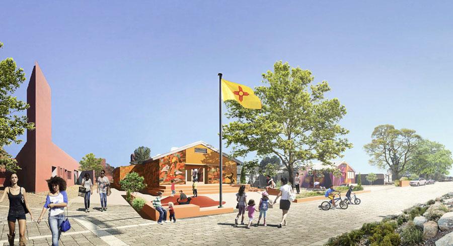 10 Midtown Santa Fe Mass Design Group
