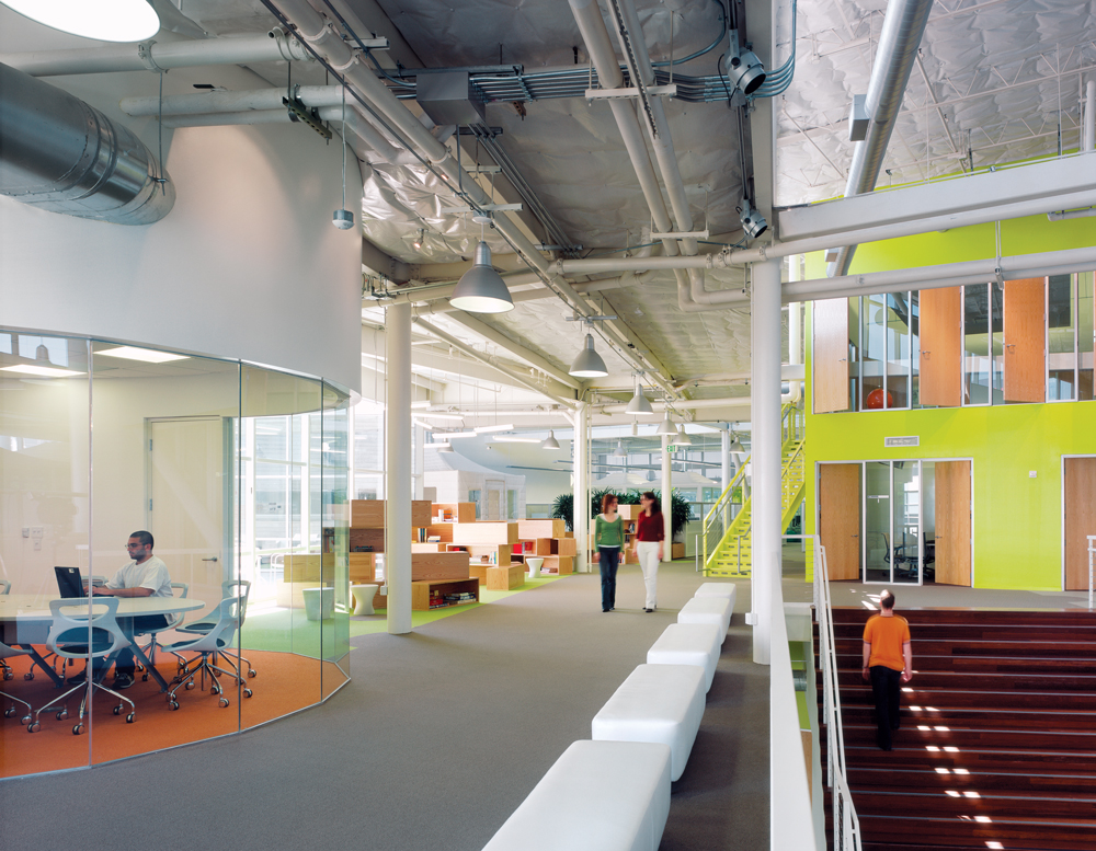 googleplex google HQ clive Wilkinson