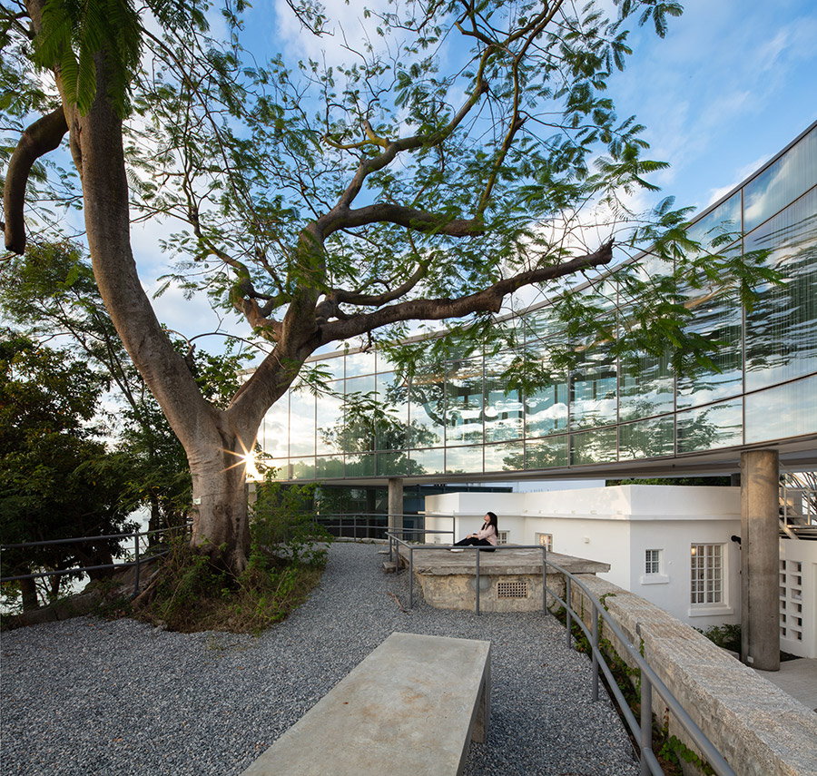 University Chicago Hong Kong center architecture