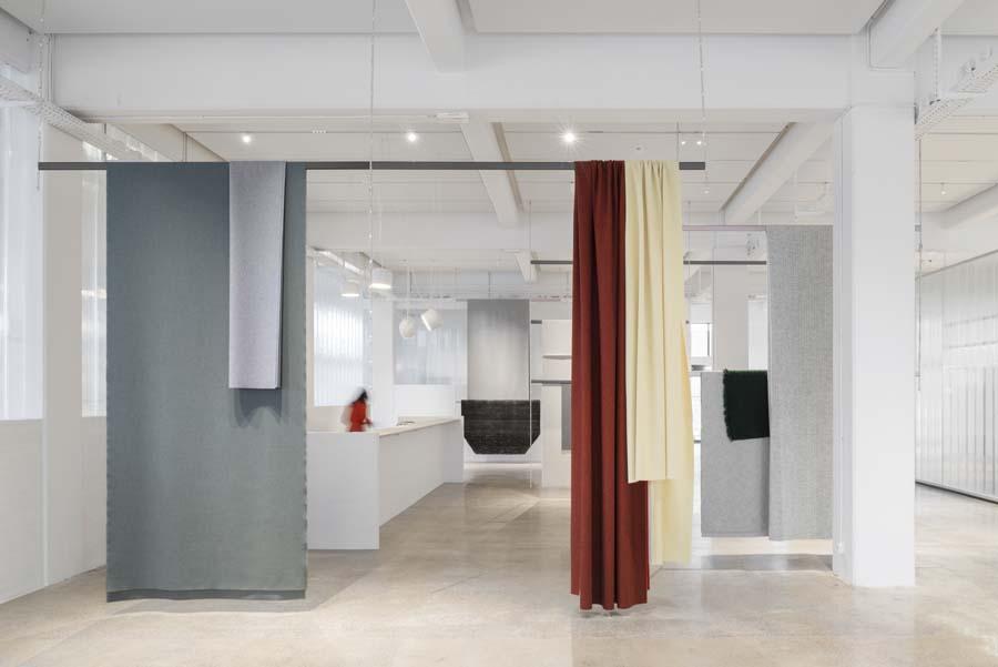 Bouroullec Kvadrat Showroom|Bouroullec Kvadrat Showroom