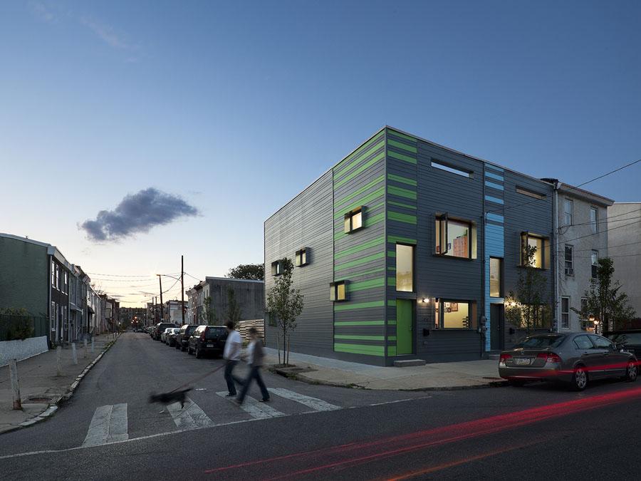 Passive House Interface Studio Architects