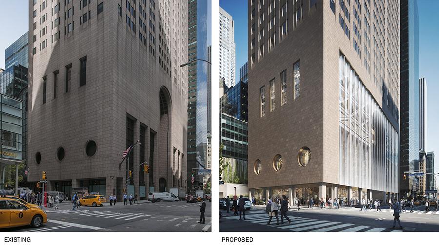 AT&T Building Postmodernist Landmark New York
