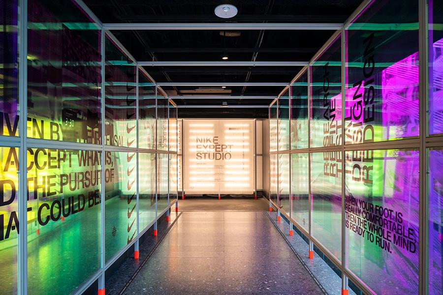 Nike House Innovation Flagship retail design