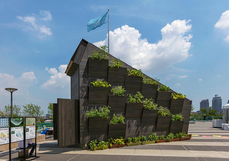 yale UN environment Eco Living Module