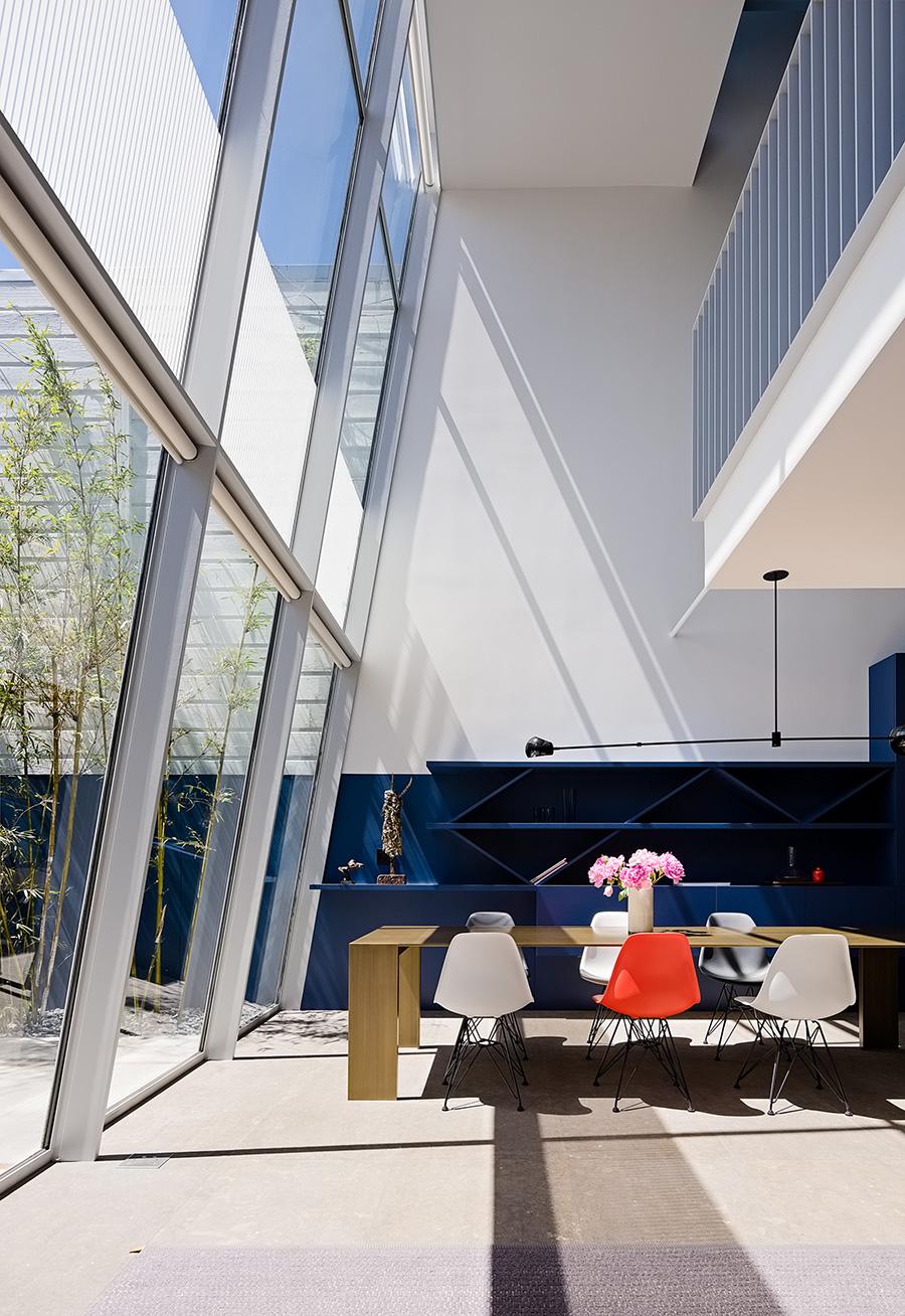 Fougeron Architecture Cut Out House