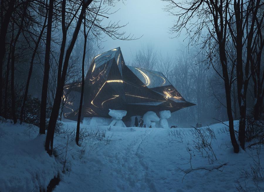 Snøhetta House Die Design