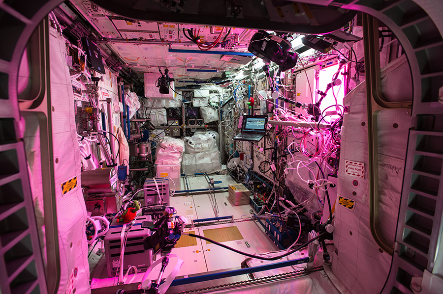 International Space Station Workplace Design