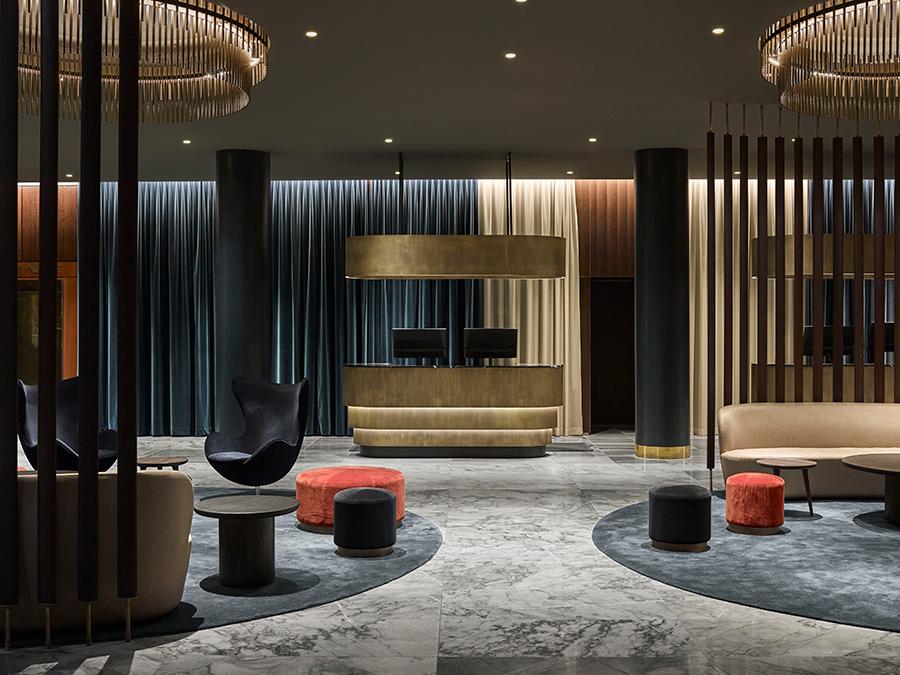 Radisson Royal Hotel Copenhagen Arne Jacobsen
