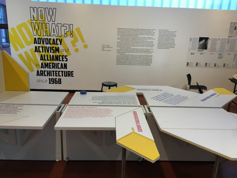 Now What advocacy architecture exhibition
