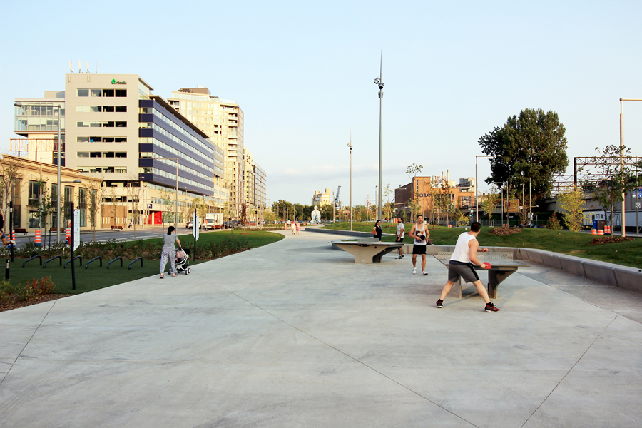 montreal parc bonaventure design