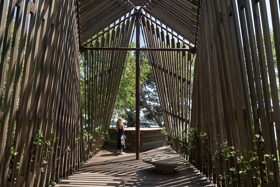 Foster Vatican Pavilion Venice Architecture Biennale