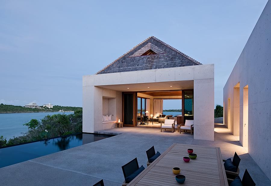 Rick Joy minimalist concrete house