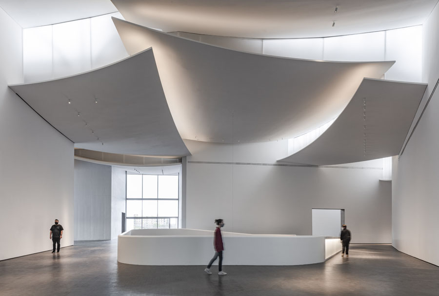 8. The Nancy And Rich Kinder Building At The Museum Of Fine Arts, Houston, Third Floor Atrium.