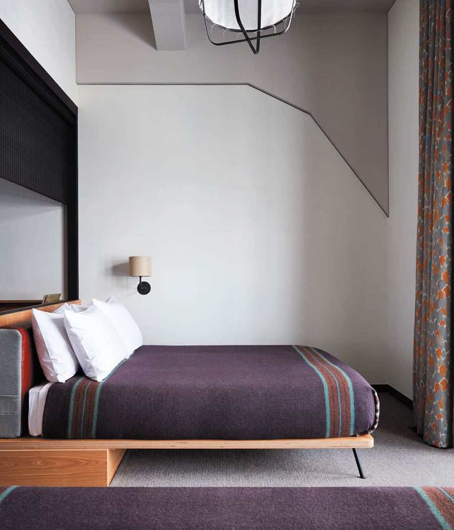Ace Hotel Kyoto Guest Bed Credit Stephen Kent Johnson