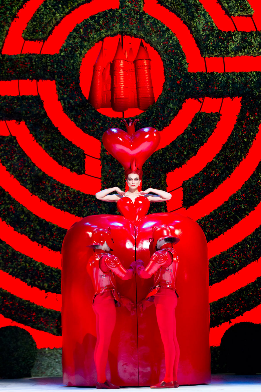 Alice In Wonderland. The Royal Ballet. Zenaida Yanowsky ©roh, Johan Persson, 2011.