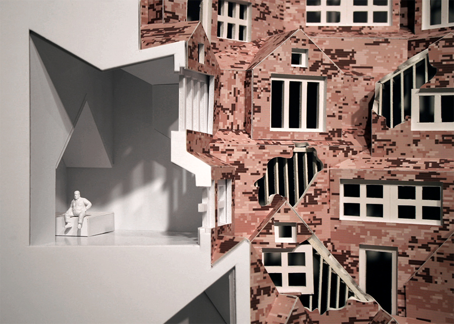 Frank Lloyd Wright suburban sprawl