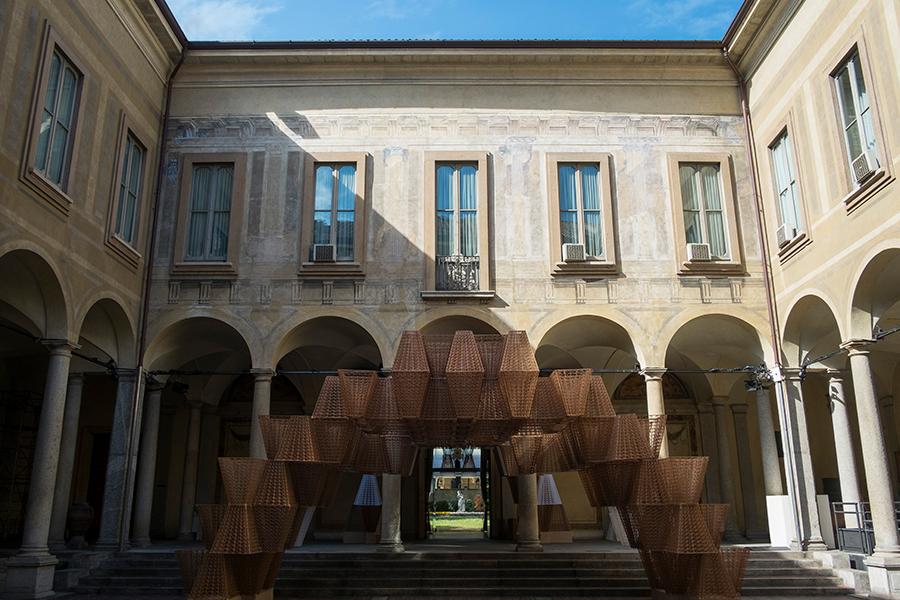 Arthur Mamou-Mani Conifera COS installation