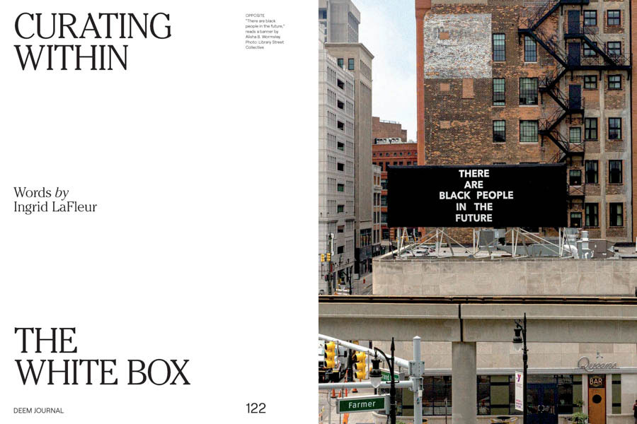 Curating Within The White Box