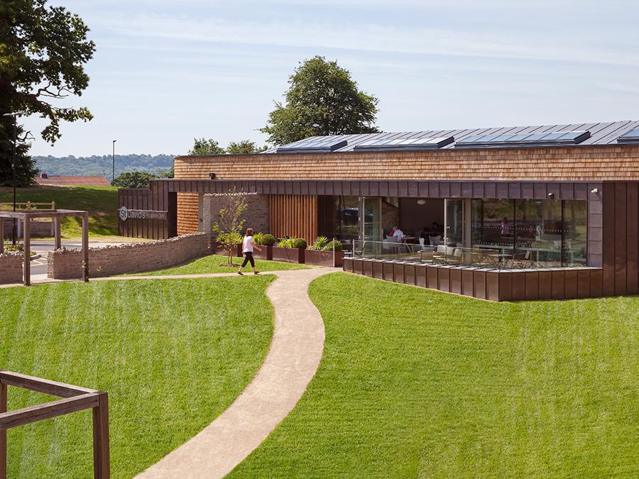 St David Hospice wales KKE Architects