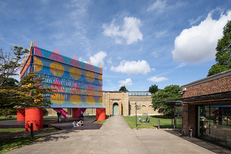 Dulwich Picture Gallery colour palace