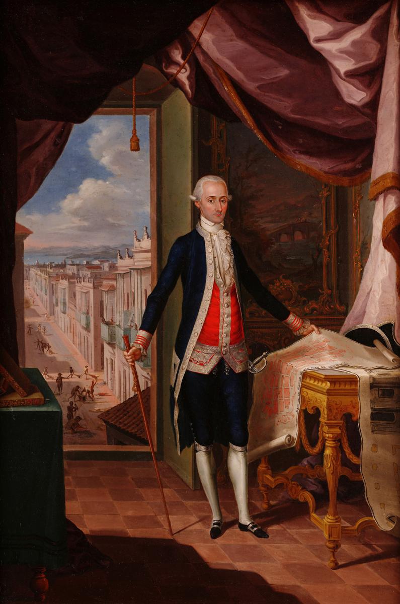 El Gobernador Don Miguel Antonio De Ustáriz By Campeche Y Jordán, José Icp