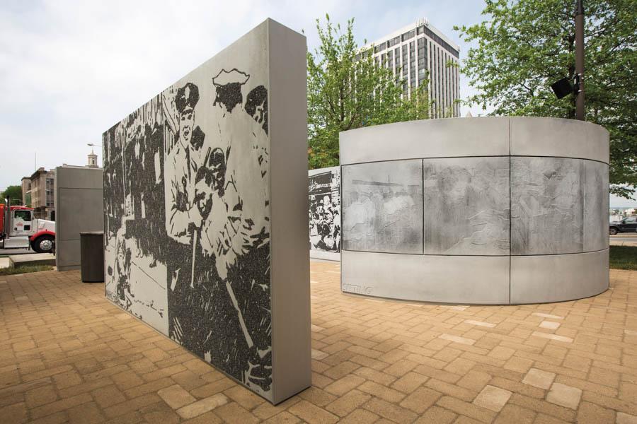 Witness Walls: Civil Rights Public Artwork Dedication Event