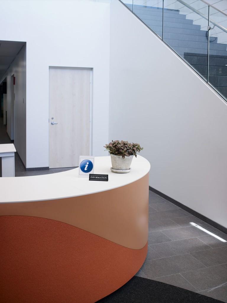 Reception Information Desk