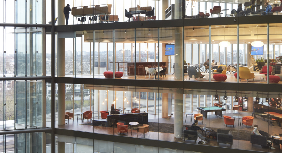 Microsoft workplace design