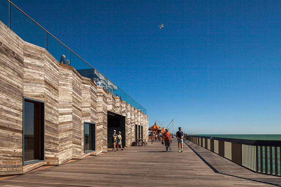 2017 Stirling Prize dRMM Hastings Pier