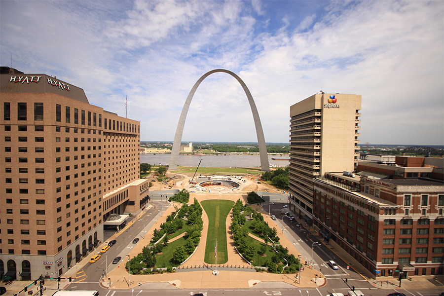 St Louis Arch Redesign