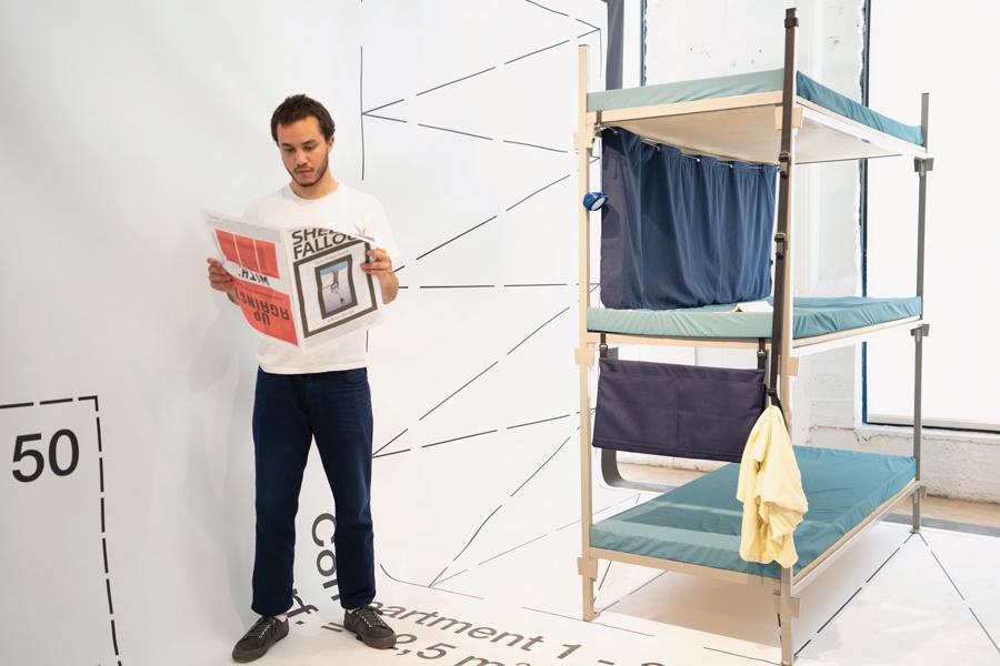 abri design refugee