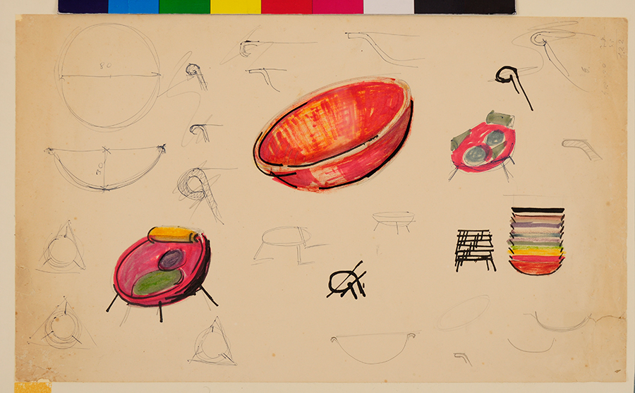 Lina Bo Bardi Drawing exhibition barcelona