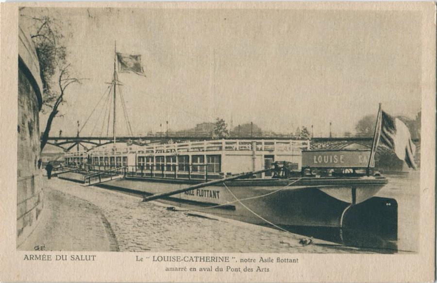 Le Corbusier Paris Barge
