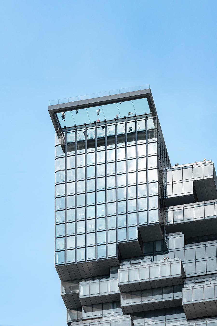 MahaNakhon glass observation deck Ole Scheeren