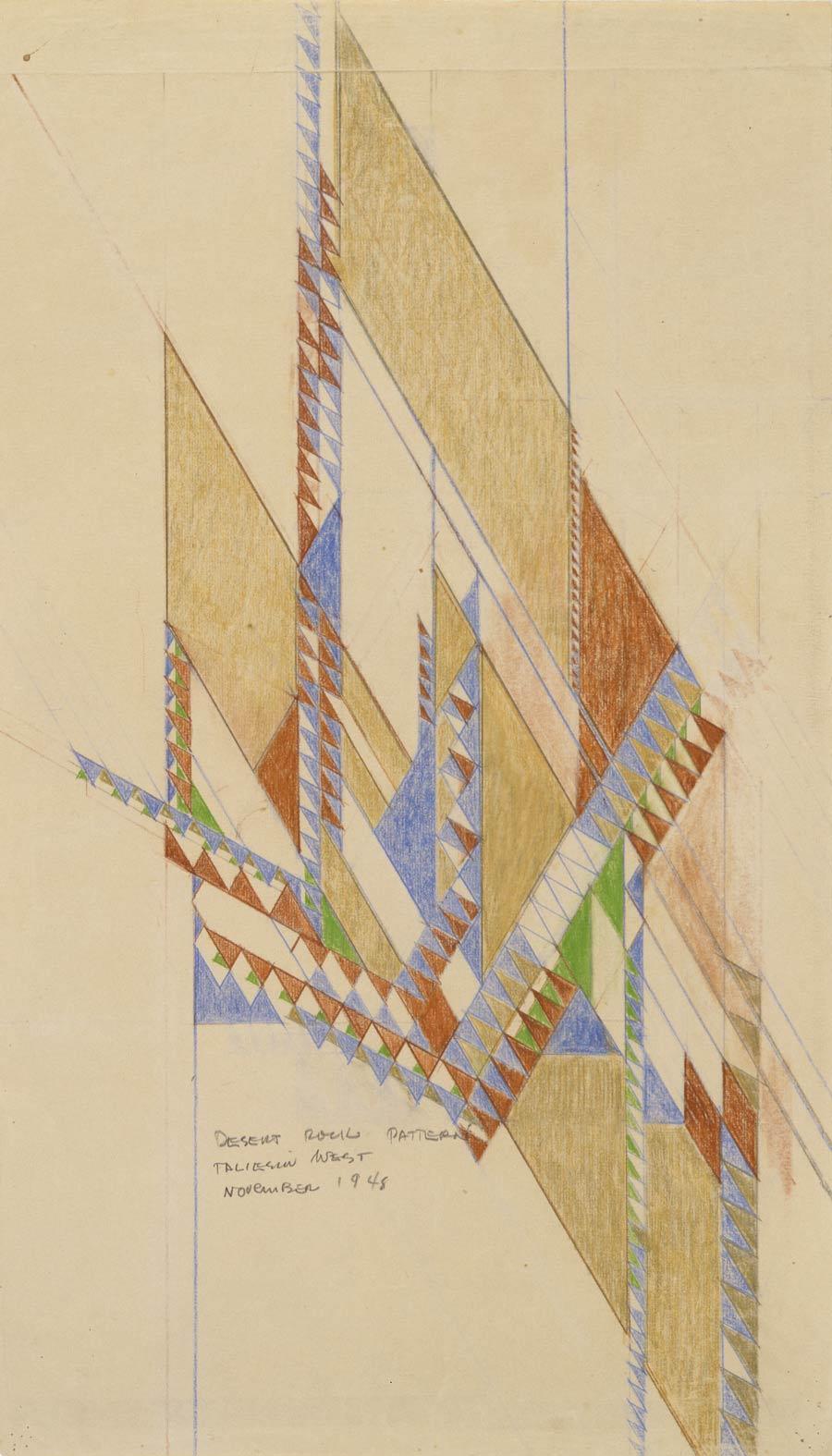 Eugene Masselink Frank Lloyd Wright algorithm architecture