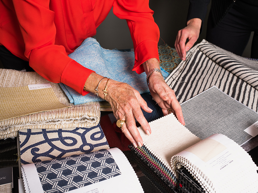 Randy Rubin Crypton textile