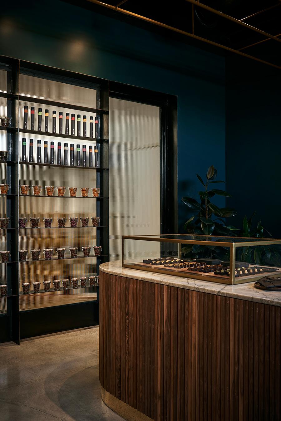 Milla Chocolates interior design