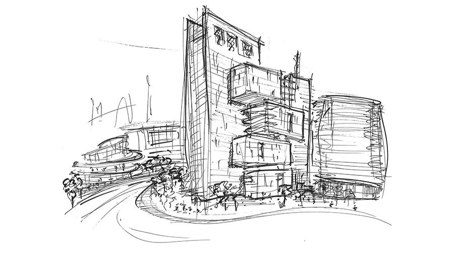 Moonshot Feature|City Of The Future Sketches 1|City Of The Future Sketches 2|City Of The Future Sketches 3