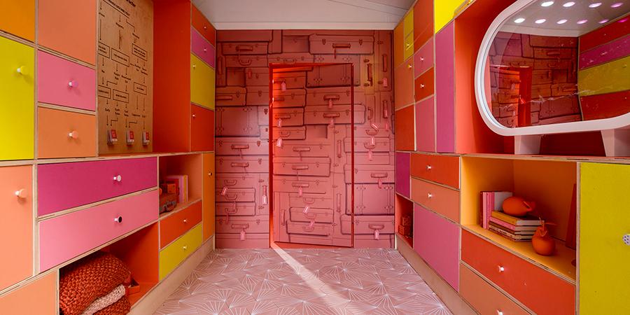 Living Coral Pantone Pantry Art Basel Miami