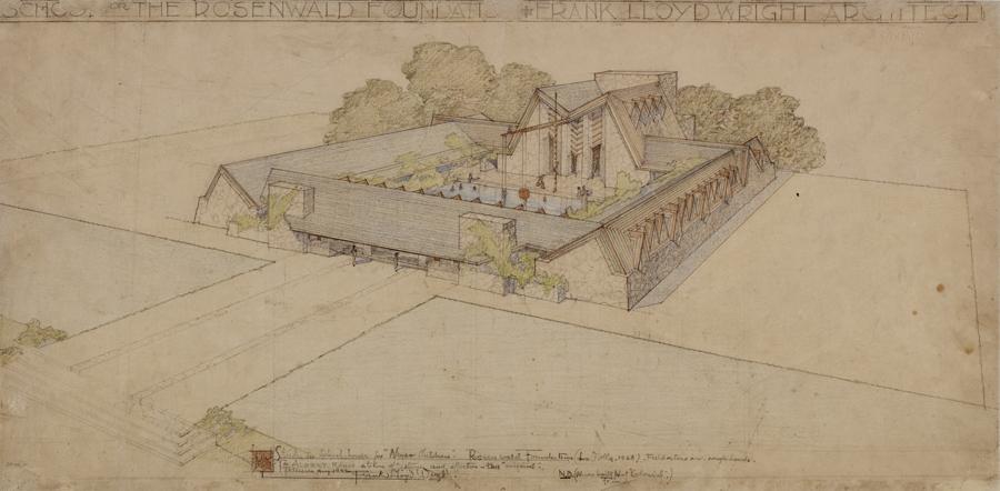Wright's unbuilt Rosenwald School