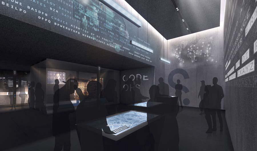 Adjaye Spy Museum Design