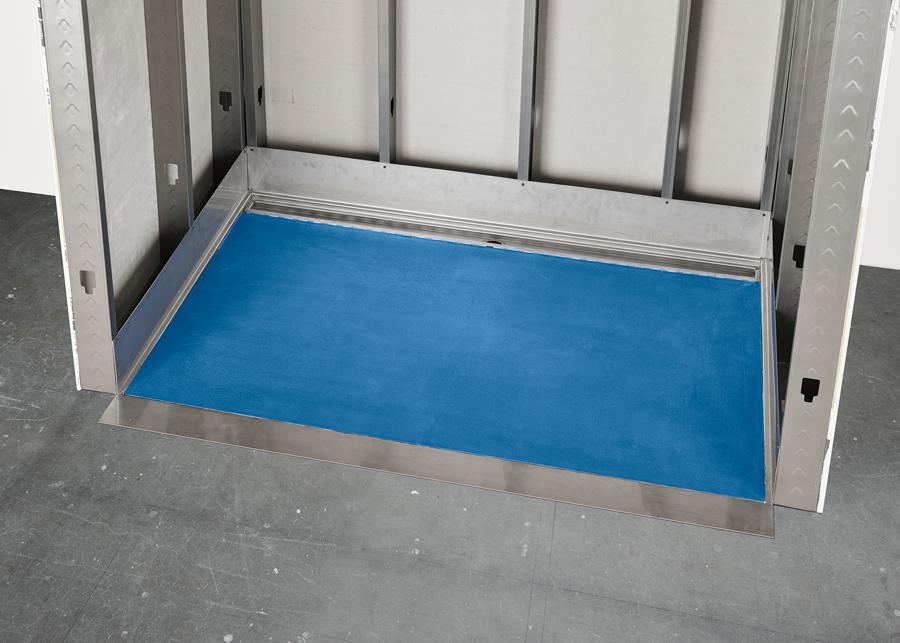 Ss Shower Base (2x4 Wall) 2020 5x7