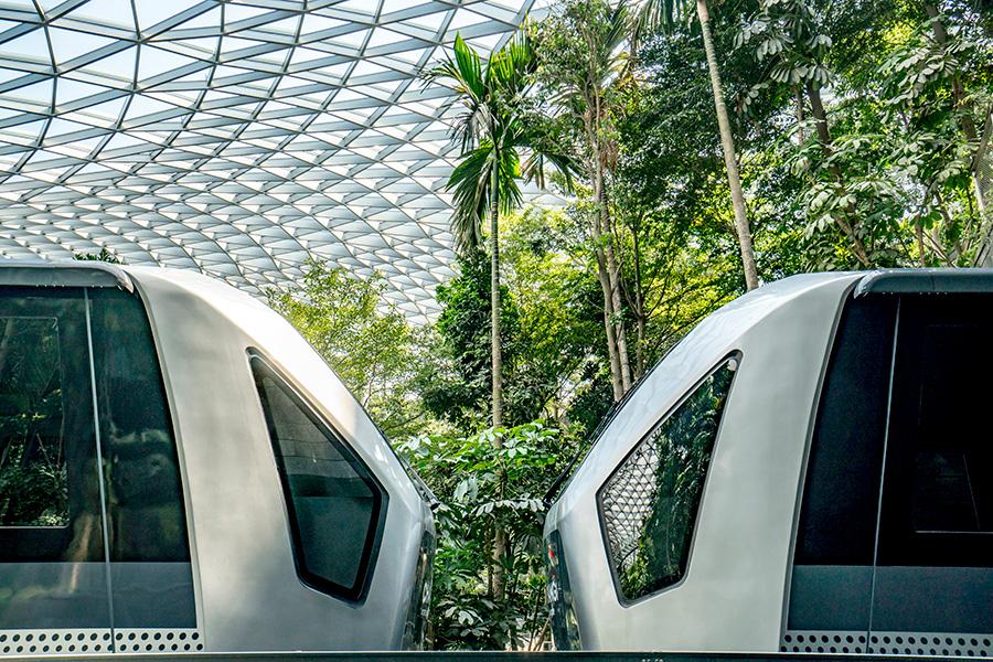 Jewel Changi Airport Safdie Architects