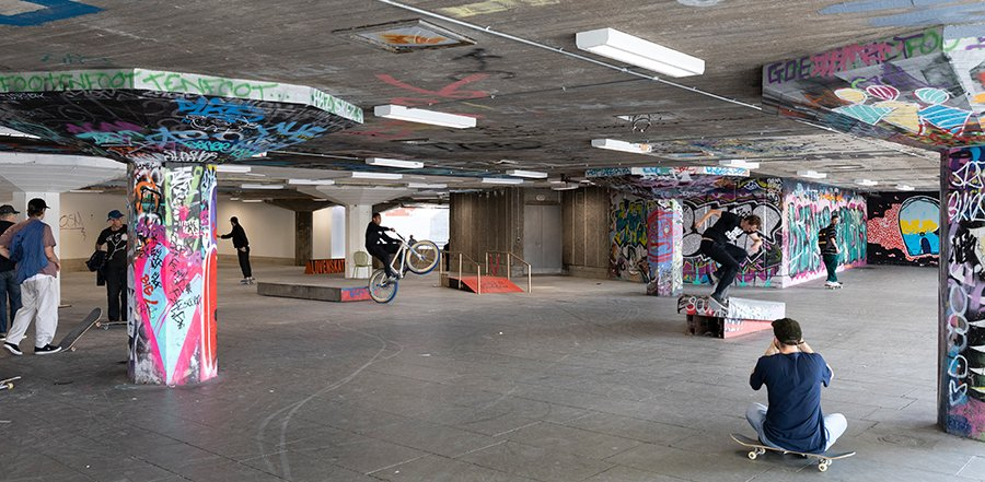 Southbank Centre undercroft renovation
